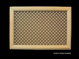 Decorative Return Air Grille 20 X 20 by Ceiling Mount Return Air Grilles Basswood