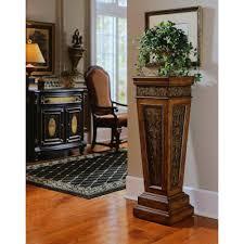 Pulaski Furniture Rich Nug Storage Indoor Plant Stand DS