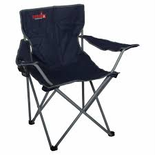 TOTAI Outdoor Camping Chair Navy Blue, Steel