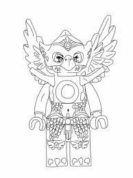 Coloring Pages Lego Chima