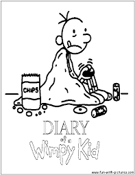 Diaryofawimpykid Coloring Pages