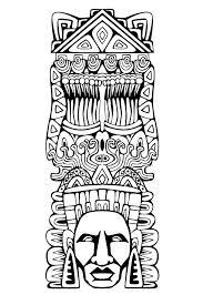 Ethnique Éléphant Indien Ligne De Dessins Originaux Et De Coloriage