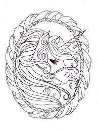 Unicorn Coloring Pages Hard Freeappdailyme
