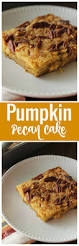 Pumpkin Cake Mix by Pumpkin Pecan Cake Diary Of A Recipe Collector