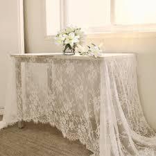 tischdecken weiß vintage spitze tischdecke deckchen