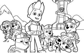 Full Size Of Coloring Pagenick Jr Color Pages Paw Patrol Page Large Thumbnail