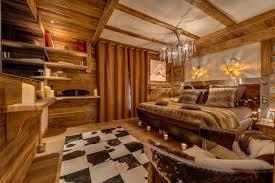 romantische einrichtungsideen für ein chalet schlafzimmer