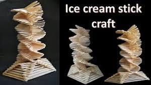 How To Make Ice Cream Stick Craft