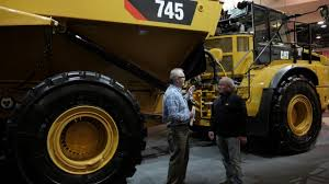100 Articulated Trucks VIDEO 745 Designed For Operator Comfort And
