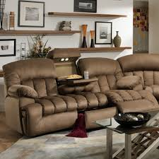 Berkline Reclining Sofa Microfiber by This Gorgeous Comfortable Dual Reclining Sofa Features Lights