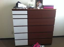Ikea Malm 6 Drawer Dresser Size by Painted Malm Dresser U2014 All Home Ideas And Decor Best Malm