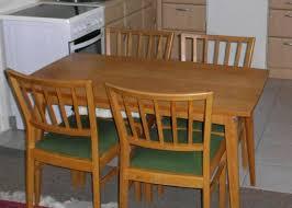60er jahre esszimmermöbel tisch und stühle