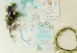 Powder Pink Mint Green Rustic Travel DIY Wedding