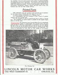 Sears Motorbuggy Homepage - 1912 Lincoln Ad