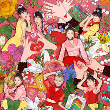 Oh My Girl Coloring Book Album Cover