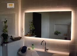 led badspiegel spiegel nach maß mit beleuchtung