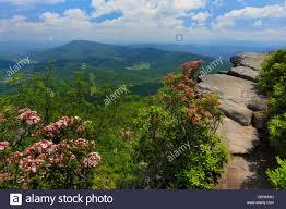 McAfee Knob Appalachian Trail Roanoke Virginia USA Stock
