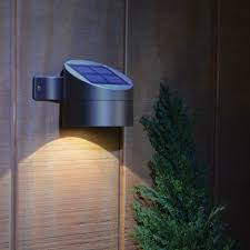cool modern mounted installation outdoor lighting solar