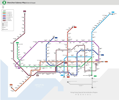 Shenzhen Subway Metro Lines Map Ticket Fare