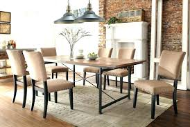 Industrial Look Furniture Dining Table Inspired Tables Classic Upholstered Chairs With Wooden For Sale Brisbane