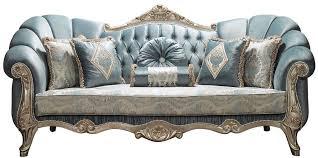 casa padrino luxus barock sofa türkis antik silber 220 x 90 x h 110 cm edles wohnzimmer sofa mit glitzersteinen und dekorativen kissen barock