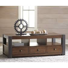 Traditional Dark Brown Norcastle Sofa Table by Ashley Furniture Living Room Tables Tags Magnificent Coffee