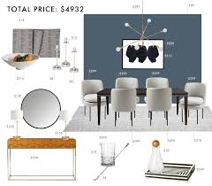 Emily Henderson Budget Room Design Modern Traditional Dining Gif