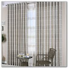red white striped curtain panels curtains home design ideas