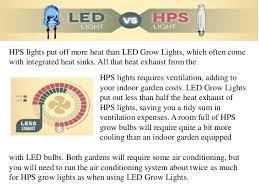 led grow lights versus hps grow lights are led grow lights better