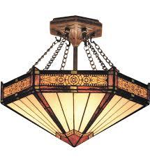 Tiffany Style Lamps Canada by Elk Lighting 621 Ab Filigree Aged Bronze 14 Inch 3 Light Semi