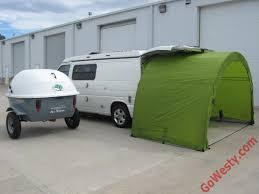 Camper Van Conversions ArcHaus Side Tent