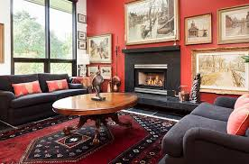 Black And Red Living Room Decorating Ideas by Red Black And White Interiors Living Rooms Kitchens Bedrooms