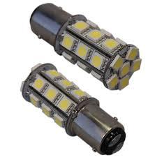 2x bay15d 24 smd marine led bulb for hella aquasignal perko