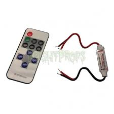 Miniature LED Light Controller with Remote FrightProps