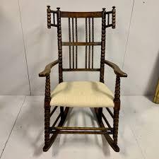 Bobbin Turned Rocking Chair