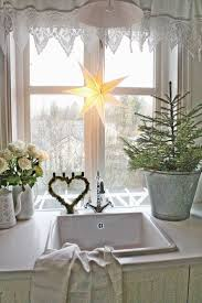 Kohls Kitchen Window Curtains by Lighted Christmas Curtain Panels Holiday Kitchen Curtains