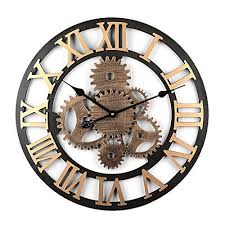 12che horloge murale industriel horloge murale mecanique