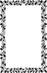 Christmas Border Clipart Black And White