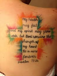 Bible Verses Tattoo Ideas 18 Cool Cross Verse Tattoos
