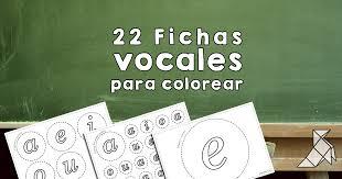 Vocales Para Imprimir Y Colorear Mayúsculas Y Minúsculas PAPELISIMO