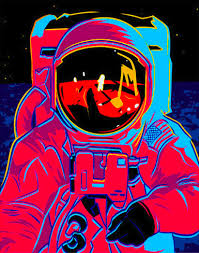 images of gifs trippy rainbow in outer space search the