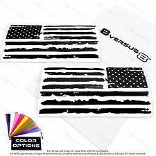 Distressed US American Flag Vinyl Car Decal Sticker Jeep Hood USA Window Grunge