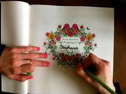 Test Produit Coloriage Adulte Jardin Secret Shrink In The Pages De