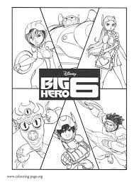 Have Fun Coloring This Amazing Disney Big Hero 6 Page Here Are The