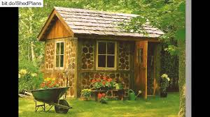 6x8 Saltbox Shed Plans by L Shaped Shed Plans Youtube