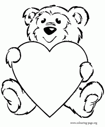 Medium Size Of Coloring Pageshearts Colouring Pages Hearts Bears Printable