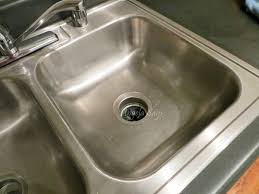 Kitchen Sink Stinks Any Suggestions by The Secret To Cleaning Stainless Steel Sinks Angela Says