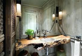 Modern Country Bathrooms Designs Bathroom Rustic