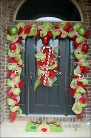 AENMIL Door Hanging Wreath Ornaments 40CM Garlands For Christmas