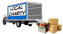 Schedule a donation pickup through DonationTown